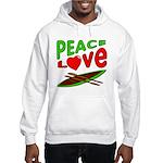 Peace Love Canoe Hooded Sweatshirt