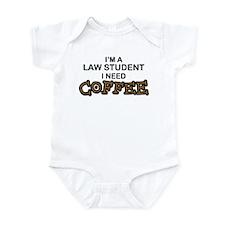 Law Student Need Coffee Infant Bodysuit