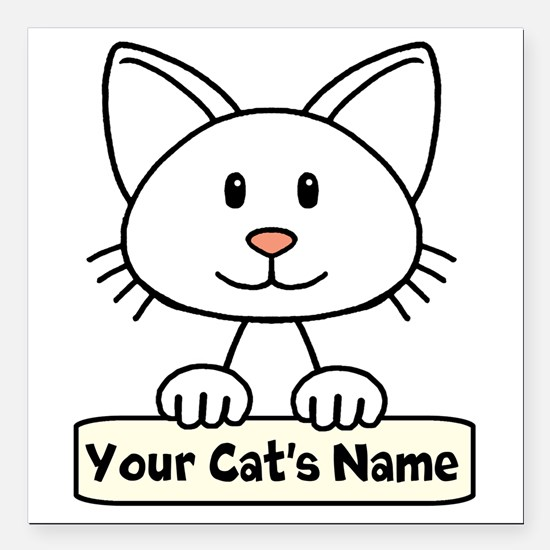 Cat Car Magnets CafePress - Make a custom car magnetsquare car magnetdesign your own you customize it