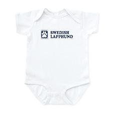 SWEDISH LAPPHUND Infant Bodysuit