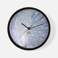 Peacock20170101 Wall Clock