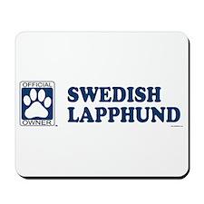 SWEDISH LAPPHUND Mousepad