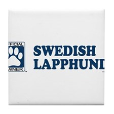SWEDISH LAPPHUND Tile Coaster