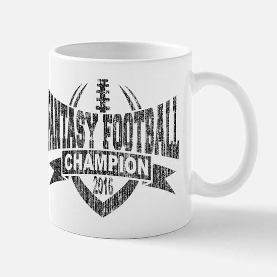 2016 Fantasy Football Champion Football Mug