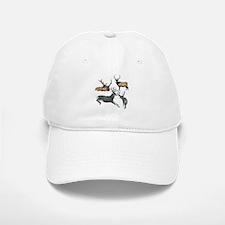 Bull elk and buck deer 17 Baseball Baseball Cap