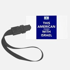 Stand with Israel Luggage Tag