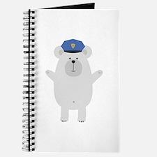 Happy Polar Bear Officer Journal