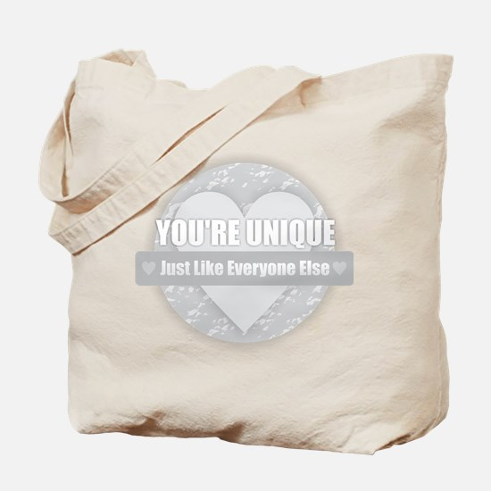 You're Unique Tote Bag