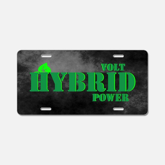 Volt Hybrid Power Aluminum License Plate