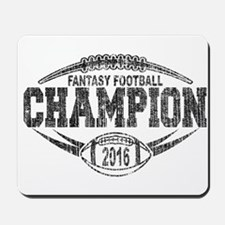 2016 Fantasy Football Champion Football Mousepad