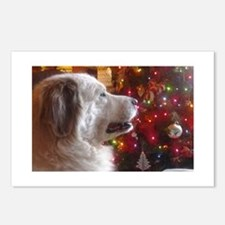 Waiting For Santa Paws Postcards (Package of 8)