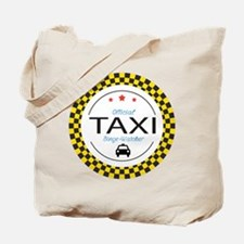 Taxi TV Binge Watcher Tote Bag