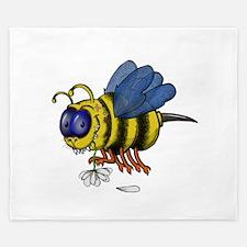 Monster Bee King Duvet