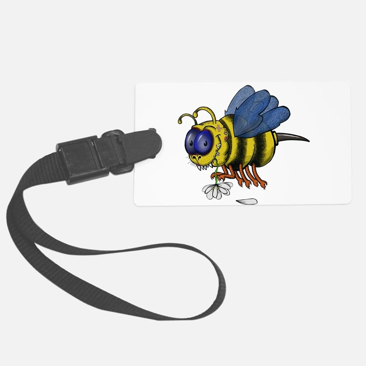 Monster Bee Luggage Tag