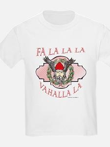 Fa La Valhalla Viking Yule T-Shirt