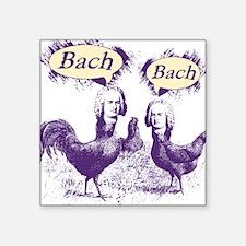 Chicken Bach Bach Purple Sticker