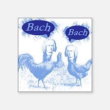 Chicken Bach Bach Blue Sticker
