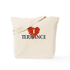 I Love Terrance Tote Bag