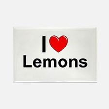 Lemons Rectangle Magnet