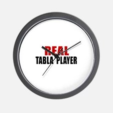 Real Tabla Player Wall Clock
