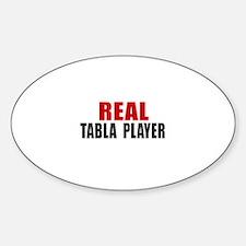 Real Tabla Player Sticker (Oval)
