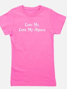 Love Me, Love My Alpaca T-Shirt