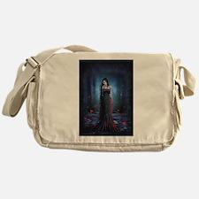 Lady of the Dark Messenger Bag