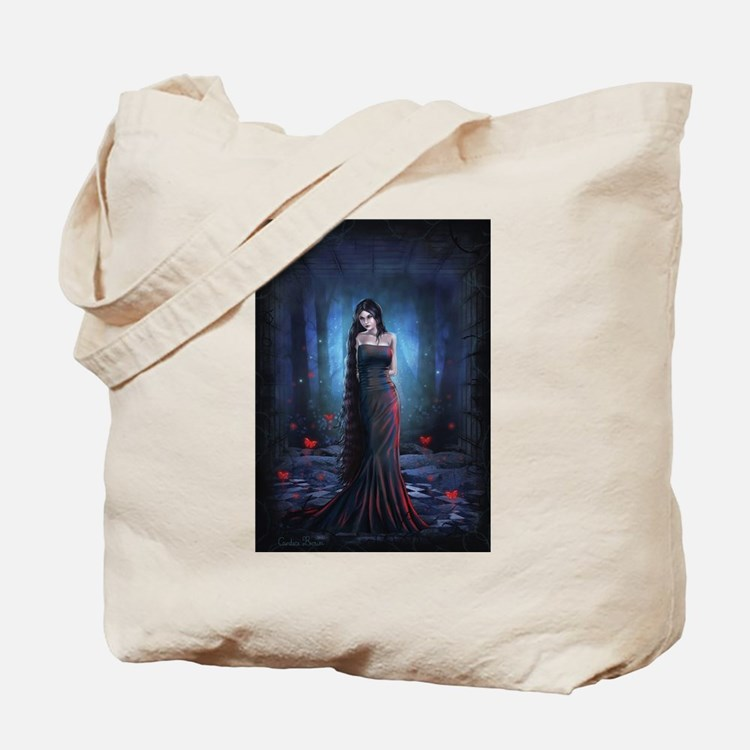 Lady of the Dark Tote Bag