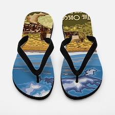 Cute Prairie Flip Flops