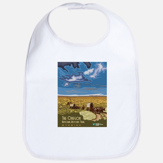 Vintage poster - The Oregon Trail Baby Bib