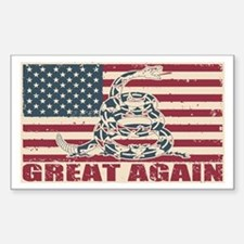 Great Again Flag Decal