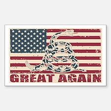 Great Again Flag Decal