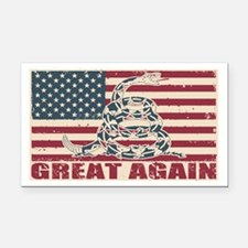 Great Again Flag Rectangle Car Magnet