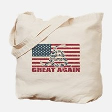 Great Again Flag Tote Bag