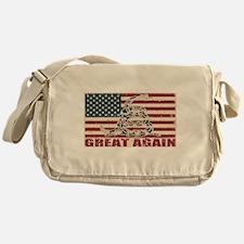 Great Again Flag Messenger Bag