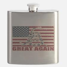 Great Again Flag Flask