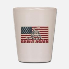 Great Again Flag Shot Glass
