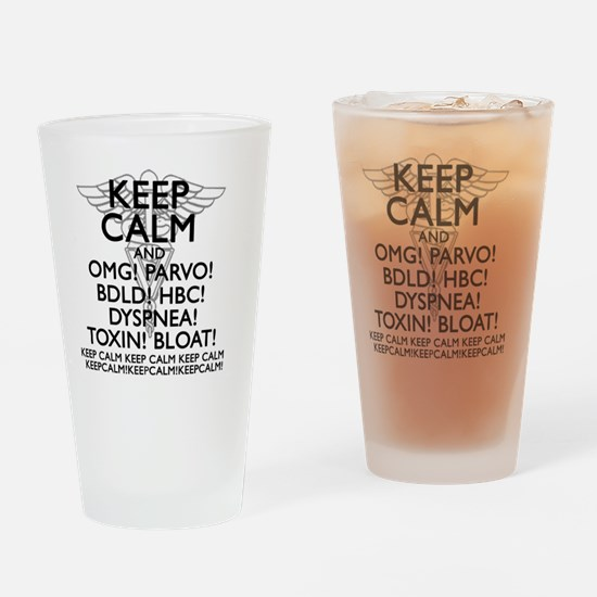 Cool School of medicine Drinking Glass
