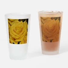 Yellow roses Drinking Glass