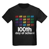 100 days school Kids T-shirts (Dark)