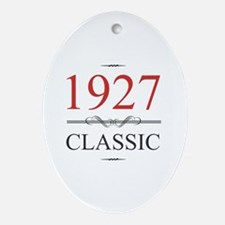 90th birthday Oval Ornament