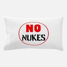 No Nukes Pillow Case