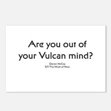 Ar you out of your Vulcan min Postcards (Package o