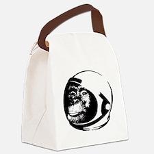 Space Chimp Canvas Lunch Bag