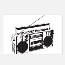 Cute Boombox Postcards (Package of 8)