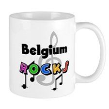 Belgium Rocks Mug