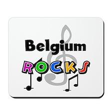 Belgium Rocks Mousepad