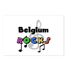 Belgium Rocks Postcards (Package of 8)