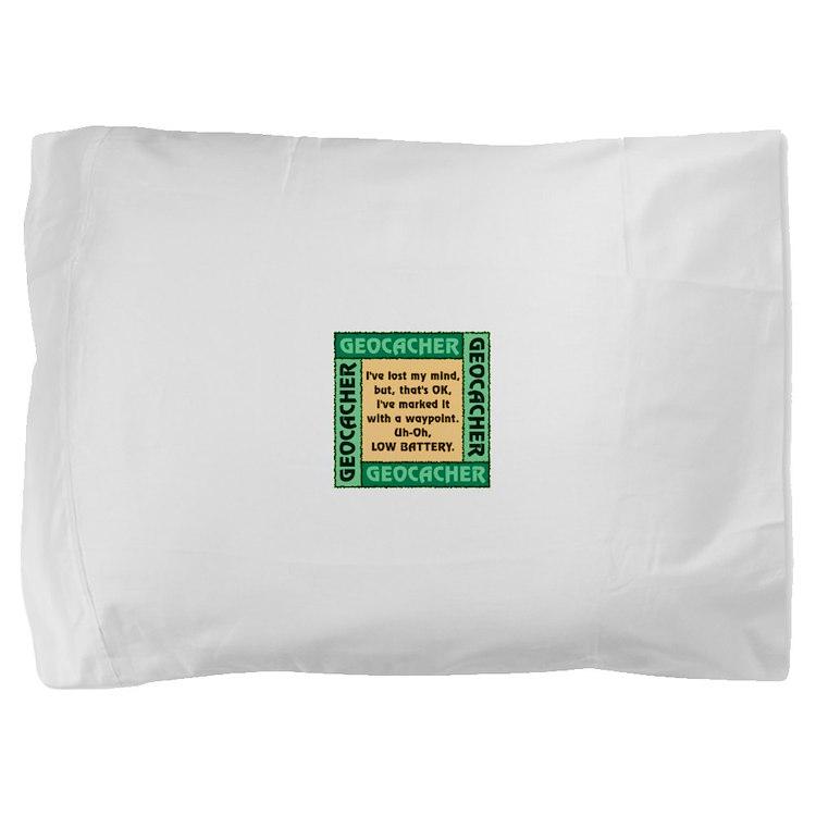 GEOCACHER Pillow Sham