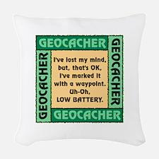 GEOCACHER Woven Throw Pillow
